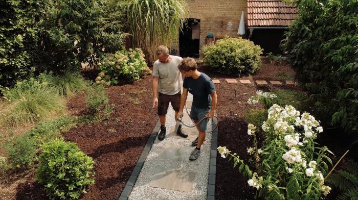 Gartenweg anlegen - Anleitungsfilm