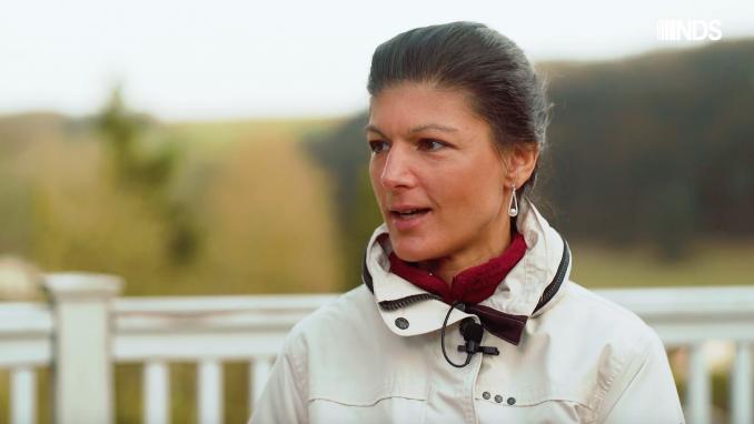 NachdenkSeiten - Gespräch mit Sahra Wagenknecht