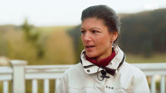 Gespräch mit Sahra Wagenknecht - Doku